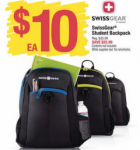 SwissGear Student Backpacks only $8 (reg $35.99) at Office Depot or Max!