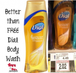 FREE + $1 Moneymaker on Dial Body Wash at Fry's