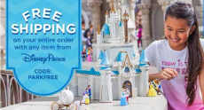 Disney Store Sale: Free Shipping with Parks Merchandise purchase!