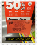 Dollar General Summer Clearance 50% off + an Extra 50% off!