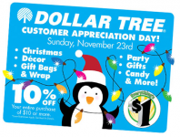 VERY RARE 10% off Entire Purchase Dollar Tree Coupon!