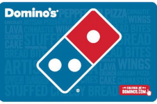 $50 Domino's Pizza eGift Card Only $40 + More eGift Card Discounts!