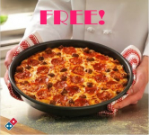 FREE Medium 2-Topping Domino's Pizza Today at 3pm EST!