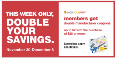 Kmart is Doubling Coupons Up to $2.00 + High-Value Coupon Ideas!