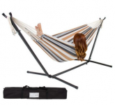 Double Hammock With Space Saving Steel Stand only $89.99 (reg $249.95)