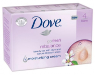Dove 4 Count Bar Soap Only $0.42 at Walgreen's!