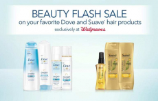 Save $4 on Dove and Suave Products at Walgreens!