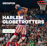 Los Angeles: Harlem Globetrotters Game on February 17 Staples Center (40% Off from $40) – Groupon