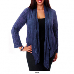 Long Sleeve Open Drape-Front Cardigan only $16 shipped (reg $49.99)