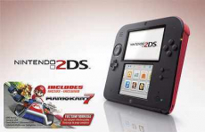 Nintendo 2DS with Mario Kart 7 Bundle only $99.99 (reg $129.99)