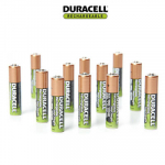 Duracell NiMH AAA Precharged Rechargeable Batteries – 12 ct Only $11.99 (Was $32!)