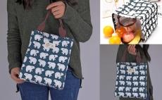 Insulated Lunch Tote Soft Bento Cooler Bag (Polar Bear) $6.99 (REG $16.99)