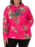 Mossy Oak Women's Camo Performance Pullover Fleece Hoodie -$9.28(60% Off)