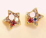 Star Shaped Diamond Crystal Earrings Only $2.49 Shipped!