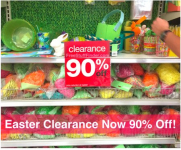 Target Easter Clearance: Up to 90% off!
