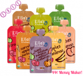 3 FREE + 44¢ Money Maker on Ella's Kitchen Baby Pouches at Target!