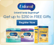 Expecting or Have a New born? – Get Up To $250 In FREE Gifts from Enfamil Family Beginnings!
