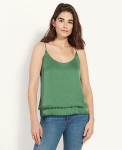 Bobble Trim Layered Cami $23.80(60% Off after CODE)