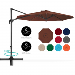 Offset Patio Umbrella w/ Tilt, 10ft $139.00( after you apply code )