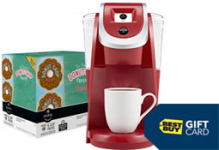Keurig 2.0 Brewer & K-Cup Pack + FREE $15 Gift Card Only $87.99 Shipped!