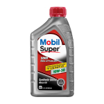 Mobil Super Synthetic Blend Motor Oil 10W-30, 1 Quart -$3.64(57% Off)