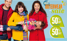 Old Navy: ALL Outerwear for the Family on SALE!