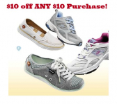 Famous Footwear Coupon: $10 off ANY $10 Purchase