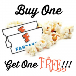 Buy One Get One FREE Movie Tickets From Fandango!