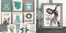 Rustic Kitchen Print Only $2.97! Reg $10.00!