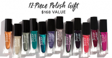 Wow! Get A FREE 12-Piece Full-Size Polish Set!