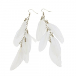 Charming Long Feather Dangle Earrings Only $1.22 Shipped!