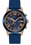 GUESS Men's Stainless Steel Silicone Casual Watch $47.99 (REG $135.00)