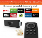 Amazon: Fire TV Stick Only $19 + FREE Shipping! (Reg. $39!)