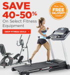 Sports Authority: Save 40-50% on Select Fitness Equipment!