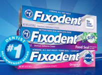 Free Sample of Fixodent!
