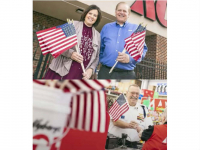 FREE American Flag at Ace Hardware!