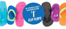 *HOT* Children's Place – 80¢ Flip Flops This Weekend Only!