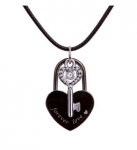 """Lock and Key """"Forever Love"""" Necklace Only $4.17 Shipped! (reg. $16.99)"""