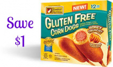 NEW $1/1 Foster Farms Gluten Free Corn Dogs Coupon!