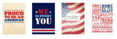 FREE Thank You Cards for Our Troops