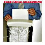 Office Depot or OfficeMax Coupon! 2 Free Pounds of Paper Shredding