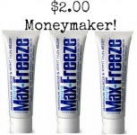 $2 Money Maker on Zim's Max-Freeze Pain Reliever at Rite Aid!