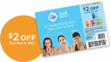High Value $2.00/1 Puffs Fresh Faces Coupon!