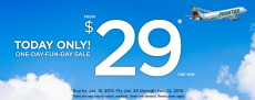 Airline Tickets only $29!!!