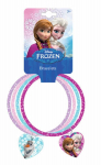 Disney Frozen 3 Glitter Bangles with Heart Charms only $5.99 (reg $9.99)