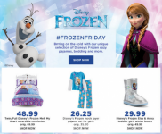 Kohl's 15% off code + Kohls Cash + Great Deals on Frozen Pajamas, Bedding, Toys, and More!
