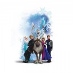 RoomMates Disney Frozen Winter Burst Peel and Stick Giant Wall Decals Only $15.99 (Reg. $25.99!)