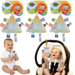 3 pack Take-Along Taggies – Interactive Sensory Baby Travel Toys -$4 (87% Off)