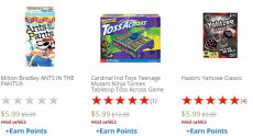 Don't Break the Ice, Yahtzee Classic, Ants in the Pants, Hungry Hungry Hippos and More Games Only $5.99 + FREE Store Pick-Up!