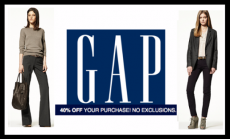 Get 40% off your Gap Purchase + Earn $25 GAP Cash for ever $50 purchase!